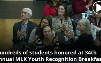 Channel3000.com: Hundreds of students honored at 34th annual MLK Youth Recognition Breakfast
