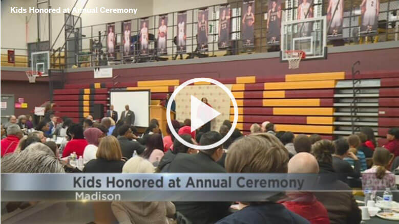 WKOW.COM: MLK breakfast honors outstanding student achievement in Madison area