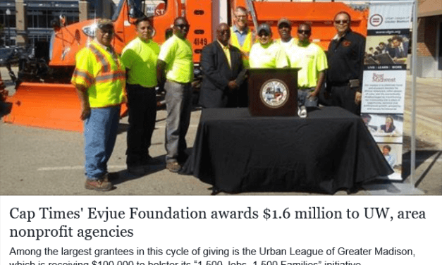 Cap Times' Evjue Foundation awards $1.6 million to UW, area nonprofit agencies
